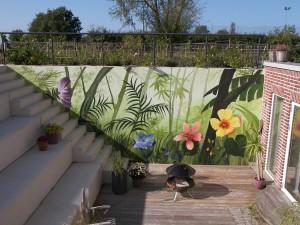 Wandmalerei Dschungel